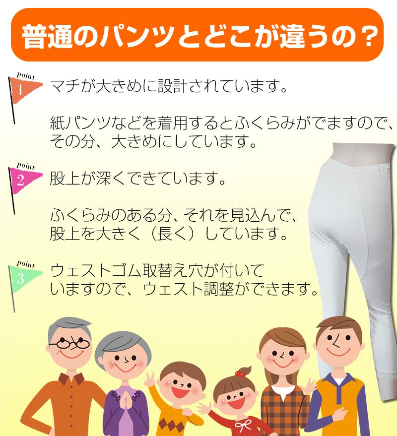 【30330】 女性用下着 オーバーパンツ