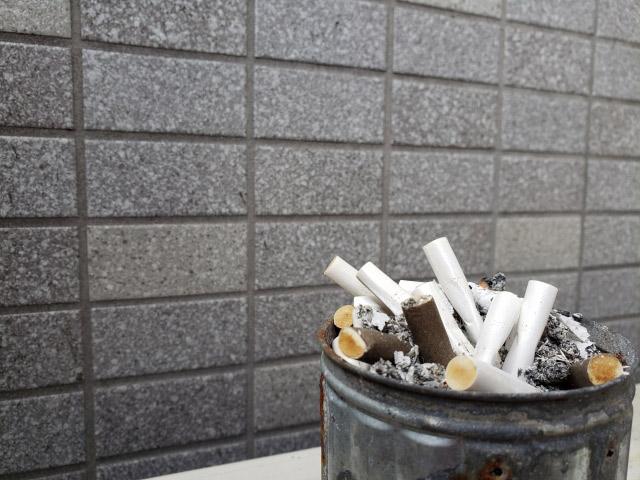 たばこの防臭に
