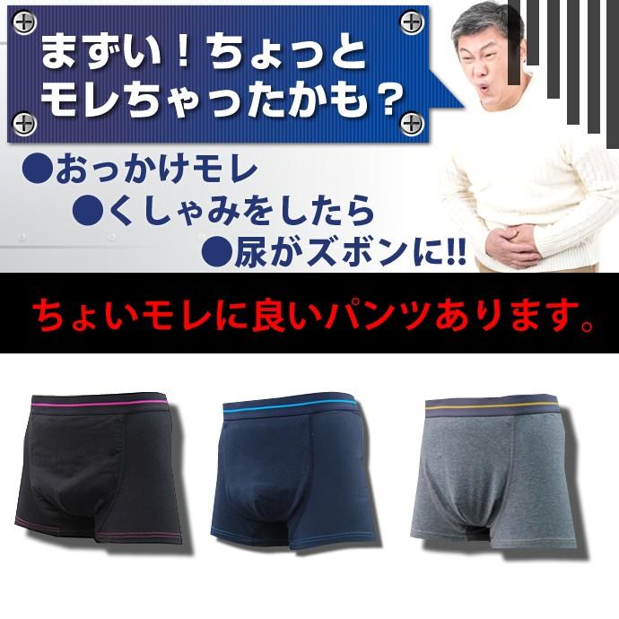 モレちゃったかな?男性用尿漏れパンツ【TS5008】